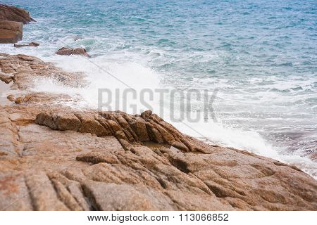 A View Of Tropical Sea Landscape