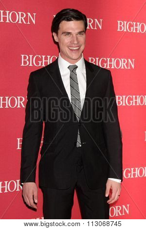 PALM SPRINGS - JAN 2:  Finn Wittrock at the 27th Palm Springs International Film Festival Gala at the Convention Center on January 2, 2016 in Palm Springs, CA