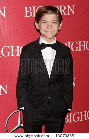 PALM SPRINGS - JAN 2:  Jacob Tremblay at the 27th Palm Springs International Film Festival Gala at the Convention Center on January 2, 2016 in Palm Springs, CA