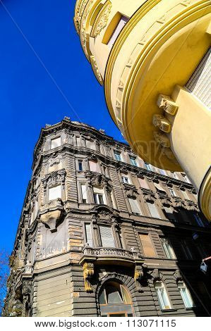 Historic Architecture In Budapest