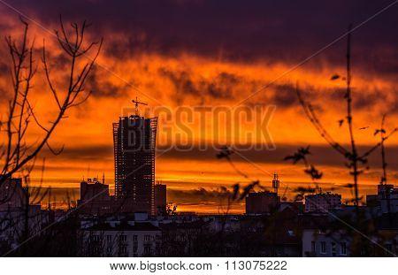 Dawn In Warsaw