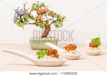 Appetizer Spicy Oriental Chicken
