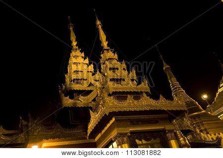 Shwedagon Paya, Rangoon, Myanmar