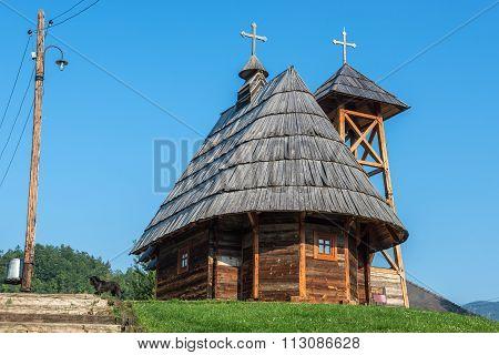 Drvengrad In Serbia