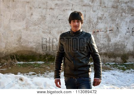 Handsome young man in Lokbatan