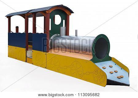Playground equipment isolated