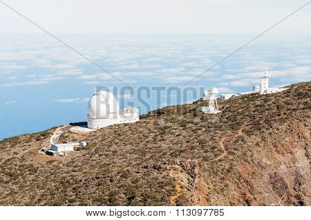 Telescopes In La Palma