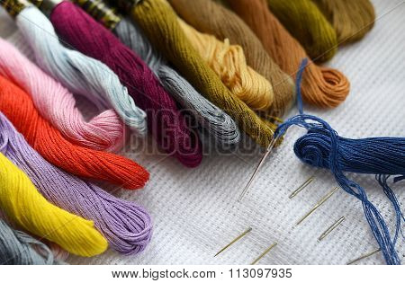 Colored Thread For Embroidery