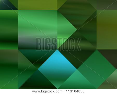Abstract Gradient Green Background