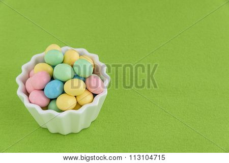 Festive Candy Coated Easter Eggs