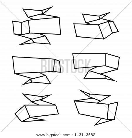 Origami Speech Bubble