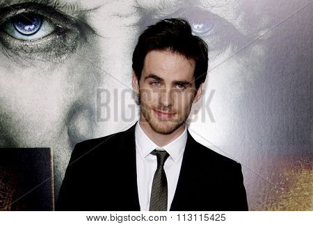 Colin O'Donoghue at the Los Angeles Premiere of