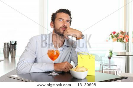 Man Waiting For Woman Late To Date