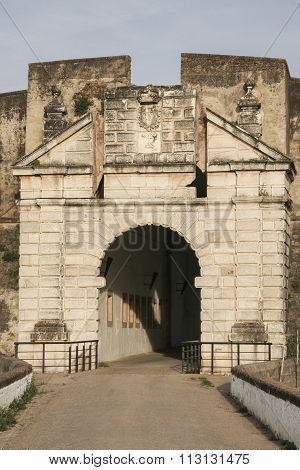 Calvario Gate stronghold, Olivenza, Spain