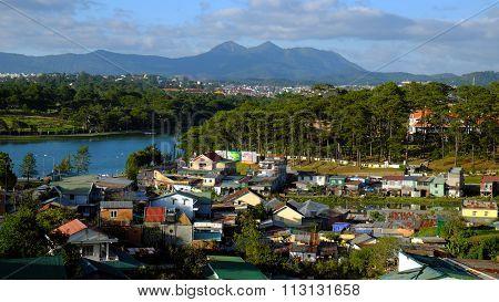 Panorama, Dalat City, Vietnam, Da Lat