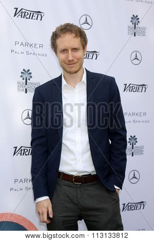 PALM SPRINGS - JAN 3:  Laszlo Nemes at the Variety Creative Impact Awards And 10 Directors To Watch Brunch at the The Parker Hotel on January 3, 2016 in Palm Springs, CA