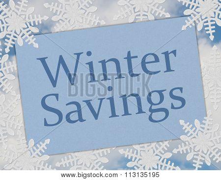 Winter Savings Card