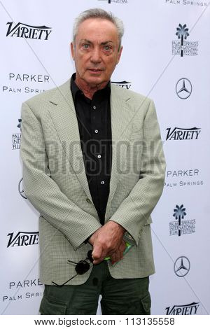 PALM SPRINGS - JAN 3:  Udo Kier at the Variety Creative Impact Awards And 10 Directors To Watch Brunch at the The Parker Hotel on January 3, 2016 in Palm Springs, CA