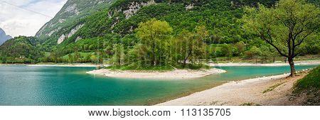 Tenno Lake (trentino Alto Adige Italy)