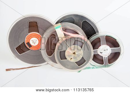 Audio Magnetic Reel Tape