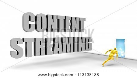 Content Streaming as a Fast Track Direct Express Path