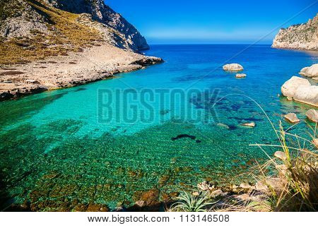 Clear Water At The Cape Formentor