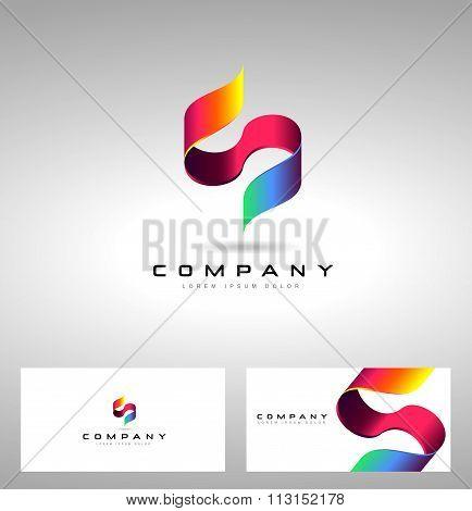 S Letter Logo Design