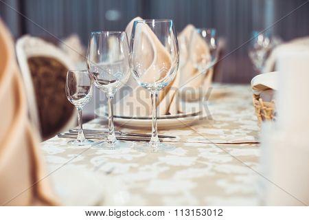The restaurant serving