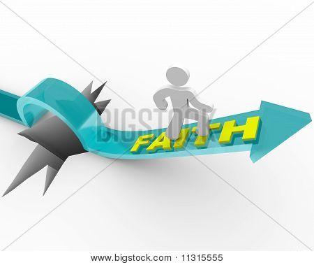Faith - A Man's Beliefs Save Him