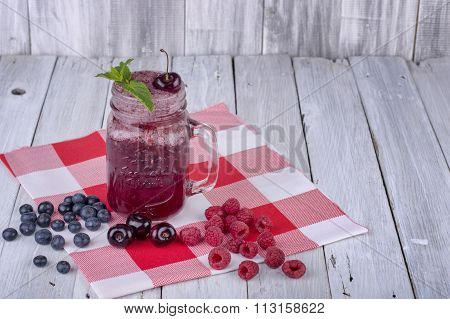 Berry Smoothy dairy free
