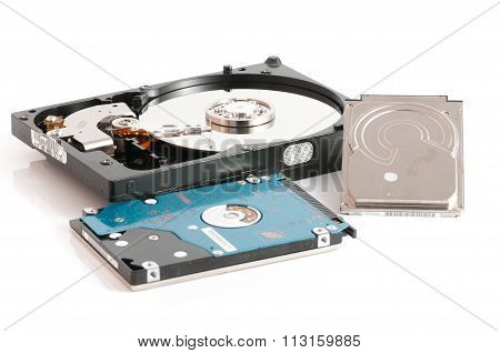 hard disk drives 2.5 and 3.5 inches