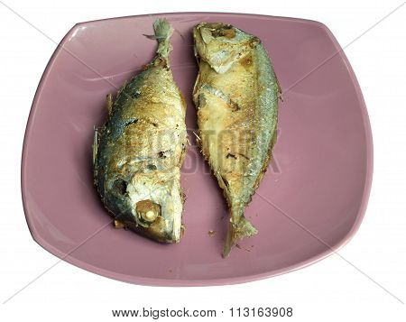 Mackerel Steamed  ,in Fry Dish