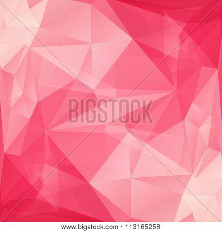 pink polygonal background