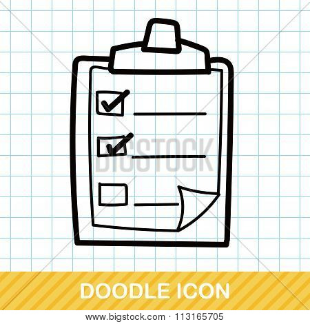 Check List Color Doodle