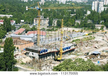 Construction Of Multi-storey Building