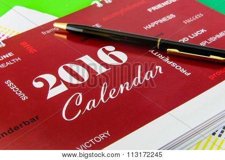 Desk Calendar For 2016