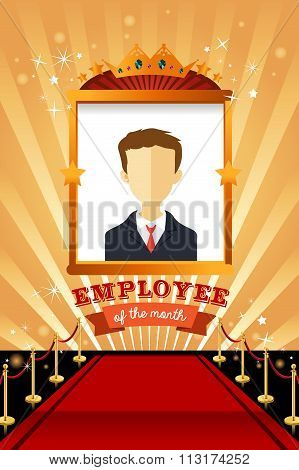Employee Of The Month Poster Frame
