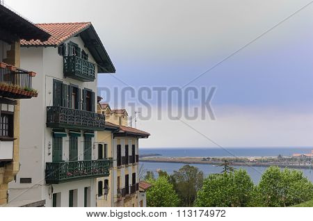 View Of Hondarribia , Basque Country , Spain