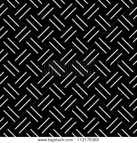 Seamless herringbone pattern. Geometric diagonal texture. Vector art.