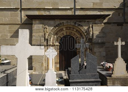 Church, Santa Marta De Tera, Zamara Province,spain