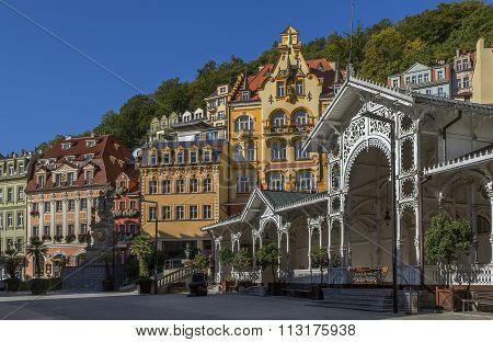 City Centre Of Karlovy Vary, Czech Republic
