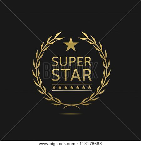 Super star badge