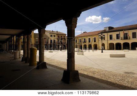 Main Square, Villalpando, Zamora, Spain