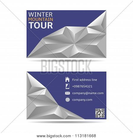 Winter tour banners