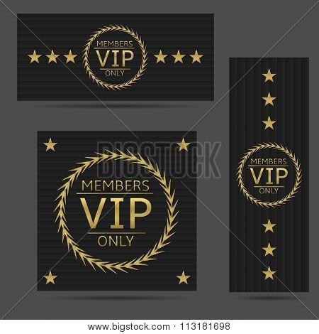 Black VIP cards