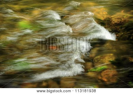 Waves In The River