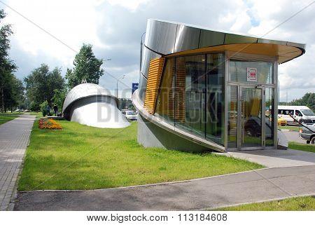 Passenger Elevator metro station Troparevo