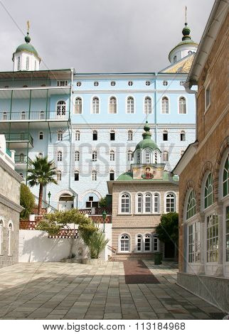St. Panteleimon Monastery On Mount Athos
