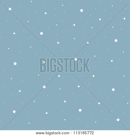 Heavy snowfall background