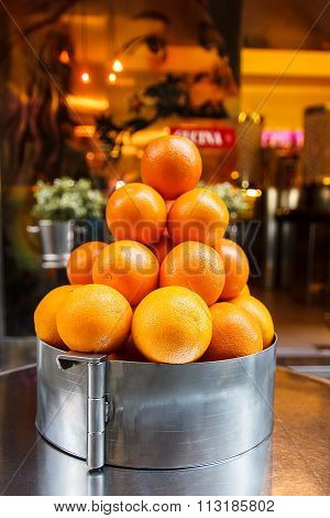 Pyramid Of Oranges